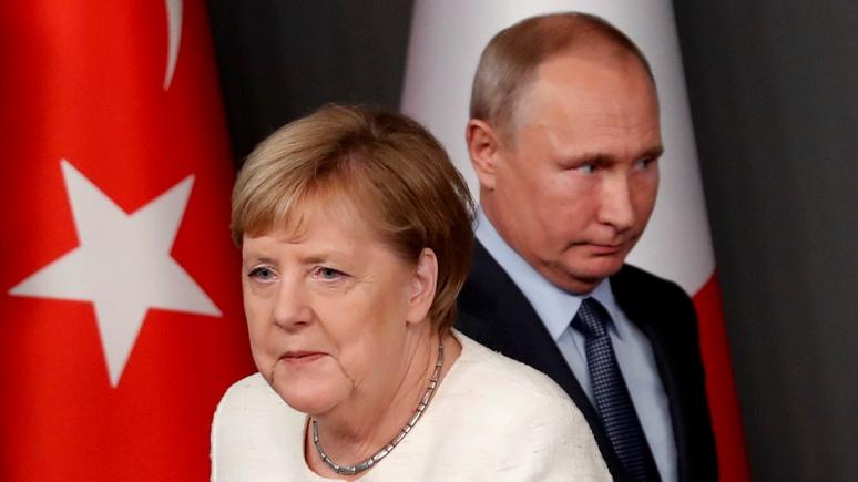 Der Tagesspiegel: уход Меркель из политики обрадует только Путина