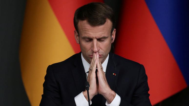 FAZ: вышвыривают вон — Макрон устроил французским СМИ весёлую жизнь