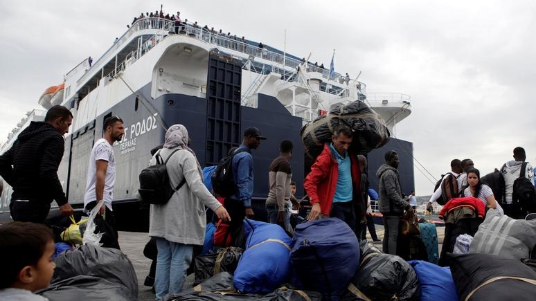 DWN: нелегальная иммиграция в Европу через Средиземное море остаётся высокой