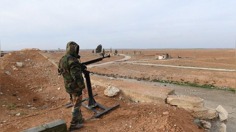 Благодарные заосвобождение отИГИЛ* сирийцы посадили Асада себе наплечи