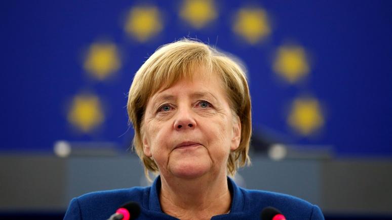 Handelsblatt: Меркель призвала создать Совбез ЕС и европейскую армию