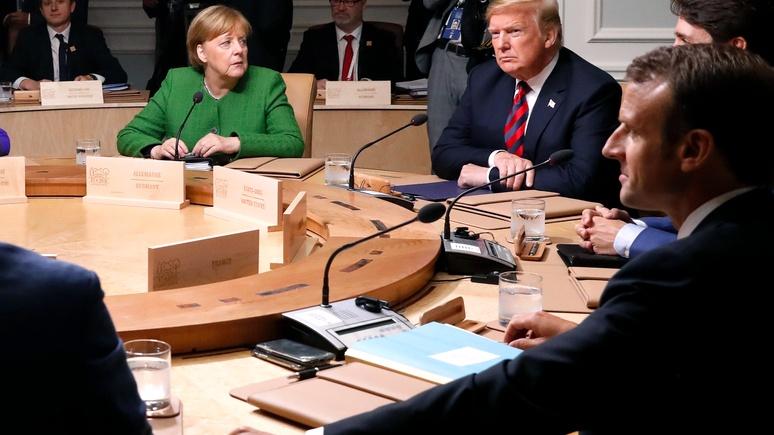 Le Figaro: «так с друзьями не поступают» — Европе пора противопоставить Америке коллективную силу