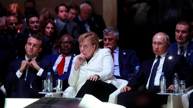 Der Tagesspiegel: вместо единой армии ЕС нужен общий европейский дом с Россией