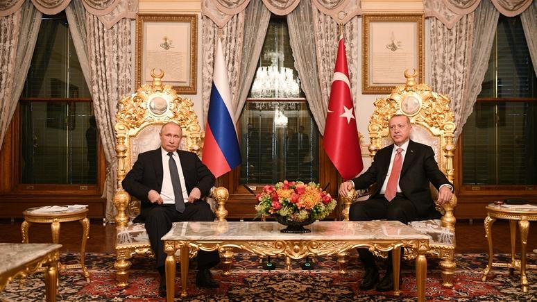 «Газопроводы и ракеты» — L'Express объяснил, как Москва укрепляет союз с Анкарой