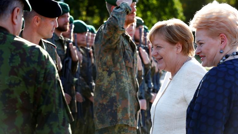 Bild: бундесвер прирастёт новобранцами для защиты восточных рубежей НАТО