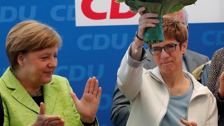 N-TV: кандидат на пост Ангелы Меркель потребовала закрыть для России порты США и Европы