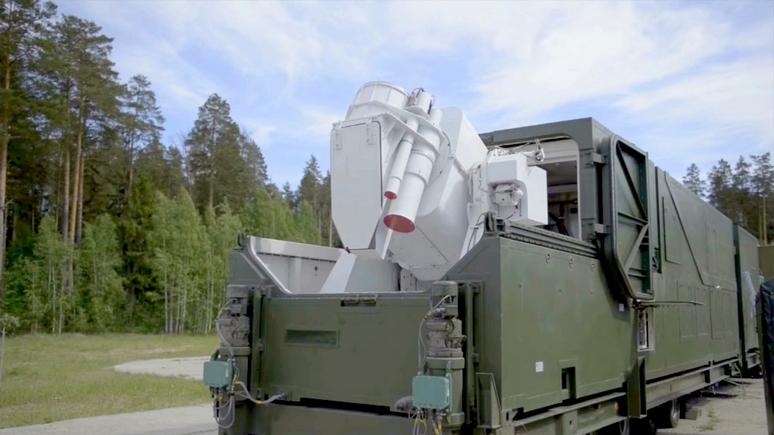 Daily Mail: Россия показала лазерные комплексы, способные уничтожать цели «за долю секунды»