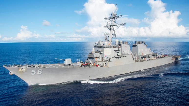 WT: эсминец ВМС США бросил вызов территориальным претензиям России в Японском море