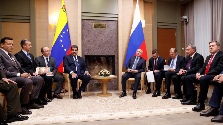 El Espectador рассказал, что стоит за прогулкой Мадуро по Москве — ИноТВ