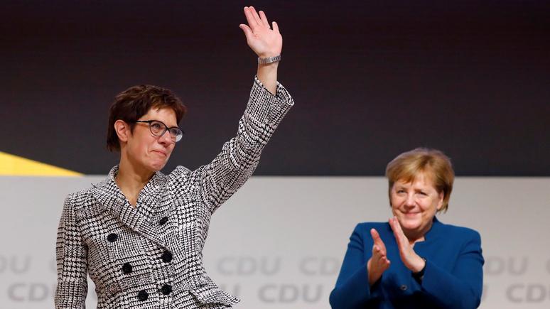 Washington Post: пост сдан — лидером ХДС в Германии стала преемница Меркель