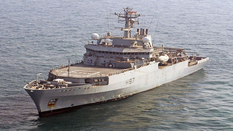 Daily Star: в Чёрное море вошёл британский разведывательный корабль