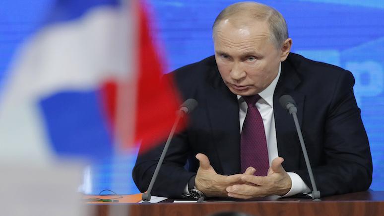 Times: Путин предупредил о развале системы сдерживания гонки вооружений