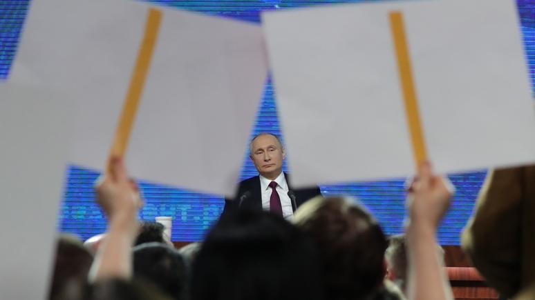 NZ: Путин идеально справился с ролью президента, у которого всё под контролем