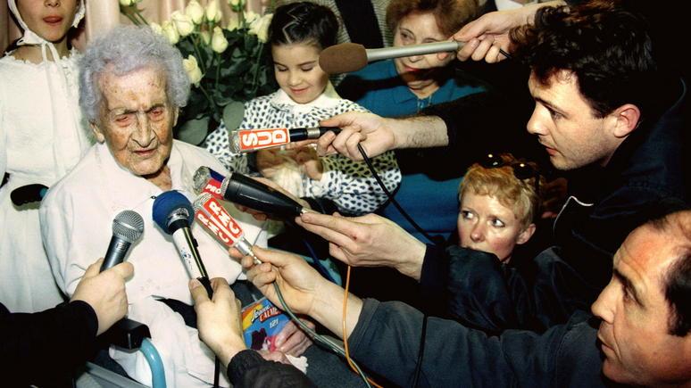 Le Figaro: российские учёные усомнились в возрасте французской долгожительницы-рекордсменки