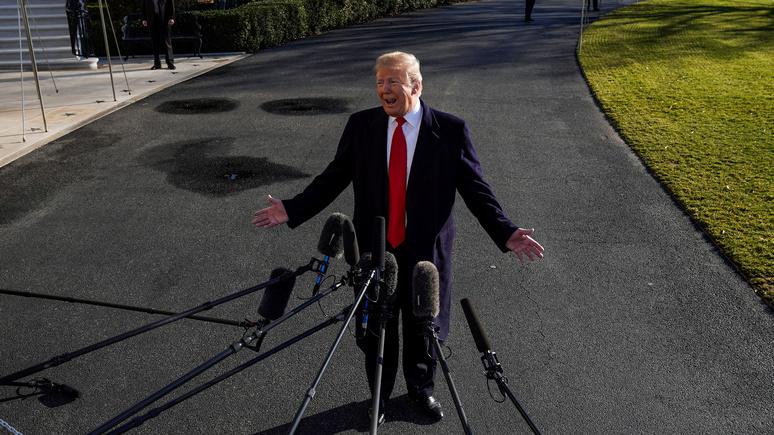 Альтернативный прогноз от Times на 2019 год: мемуары Трампа, брексит без сделки и конец торговой войны