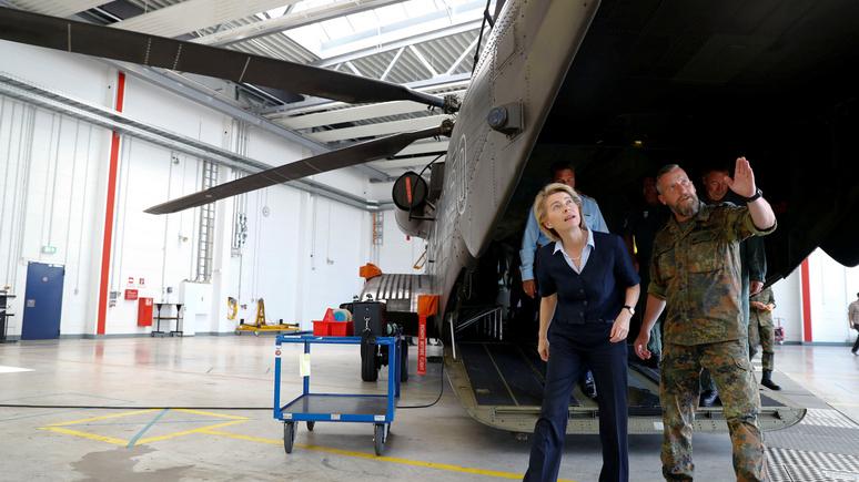 Der Tagesspiegel: дефицит вооружения в бундесвере затупил острие натовского копья