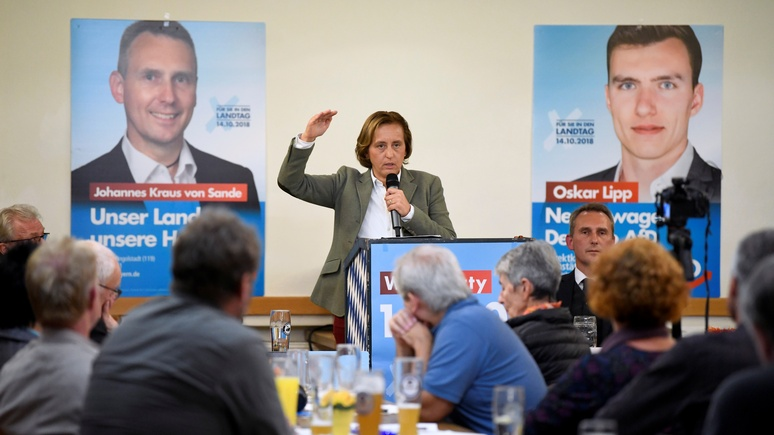 Focus: перспектива выхода из ЕС всё сильнее пленяет немецких правых