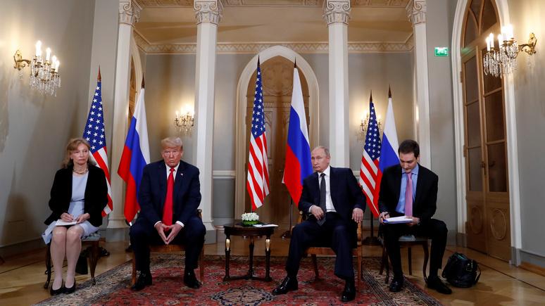 ABC: встреча с Путиным не даёт покоя — конгресс США подумывает о допросе переводчиков Трампа