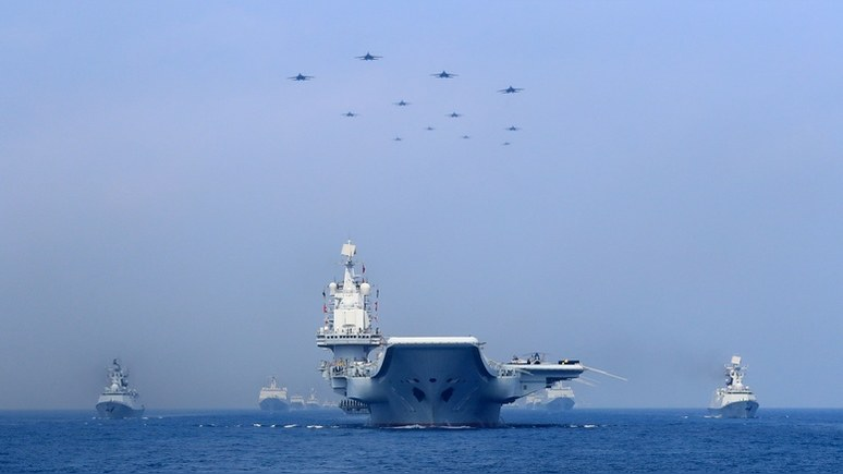 Breaking Defense: вице-адмирал США призвал готовится к «агрессивному» соперничеству с Китаем и Россией