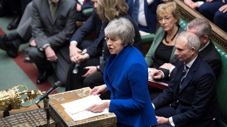 Британский парламент выразил доверие руководству Мэй