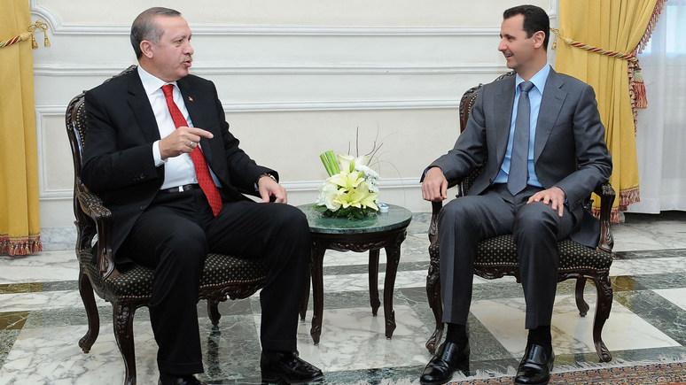 Spiegel: Турция готова признать Асада — в обмен на операцию против курдов