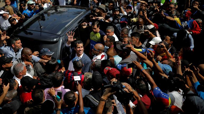 Обозреватель Le HuffPost: события в Венесуэле создали в мире новый железный занавес