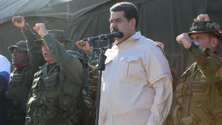 Perfil: Yankee go home — Мадуро ответил на угрозы «империалиста» Трампа военными учениями