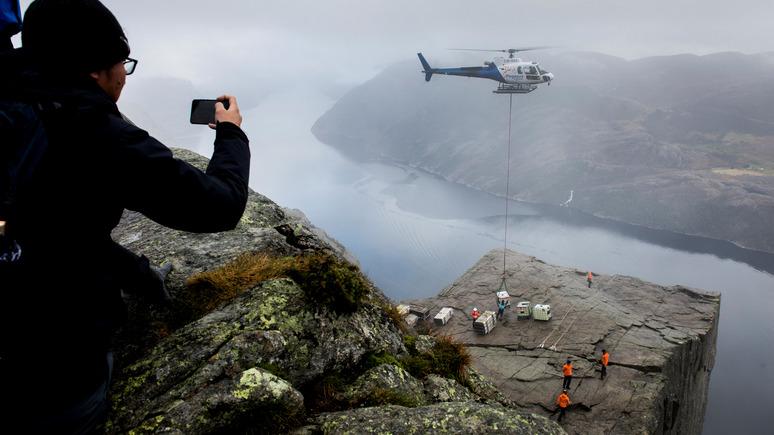 BarentsObserver: «это как ослепнуть» — норвежских строителей беспокоят случаи пропажи сигнала GPS
