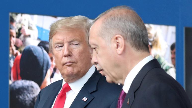 Der Standard: трамповский журавль или путинская синица — Эрдогану предстоит сделать выбор в Сирии