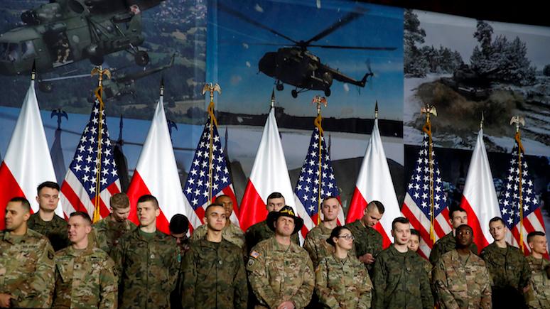 GW: хотя угроза России не исчезла, американцам уже не нужен Форт Трамп в Польше