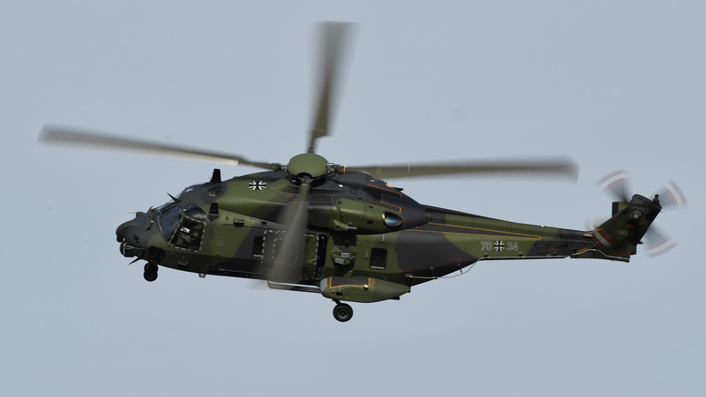 Bild рассказал о плачевном состоянии вертолётов бундесвера