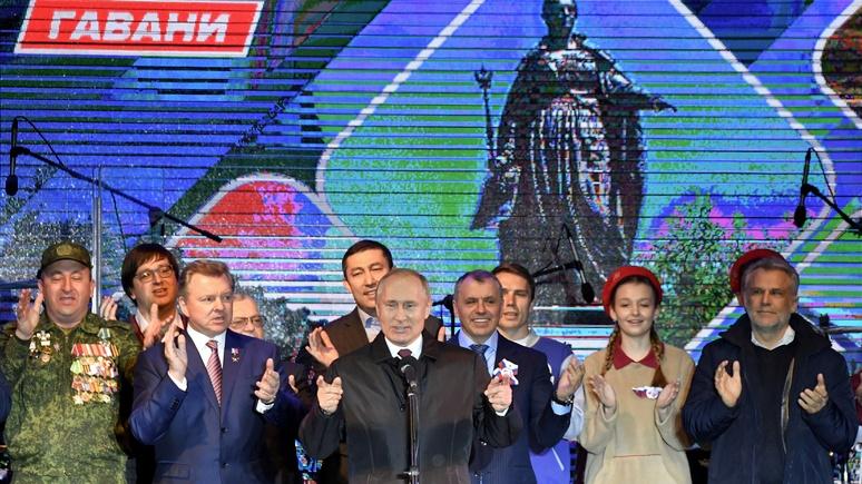 Kronen Zeitung: на юбилей Путин сделал крымчанам «особенный подарок»