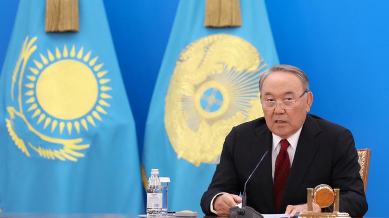 Президент Казахстана Нурсултан Назарбаев подал вотставку