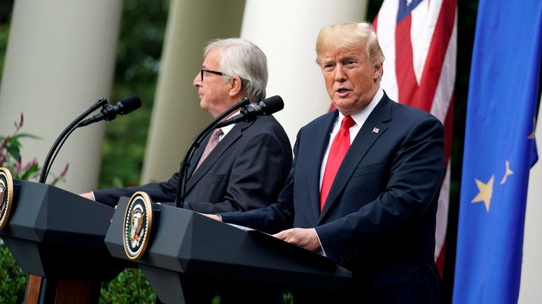 Frankfurter Allgemeine: Европа перестала безоговорочно признавать ведущую роль США