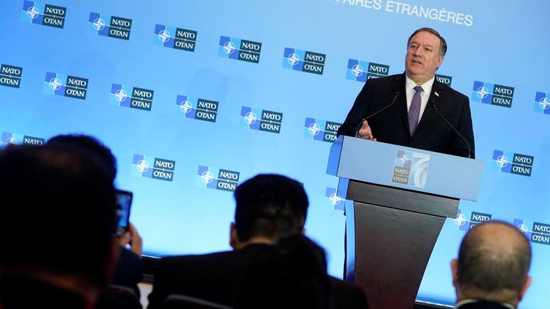 Telegraph: Помпео отметил годовщину НАТО призывом к единству для противостояния России, Китаю и Ирану