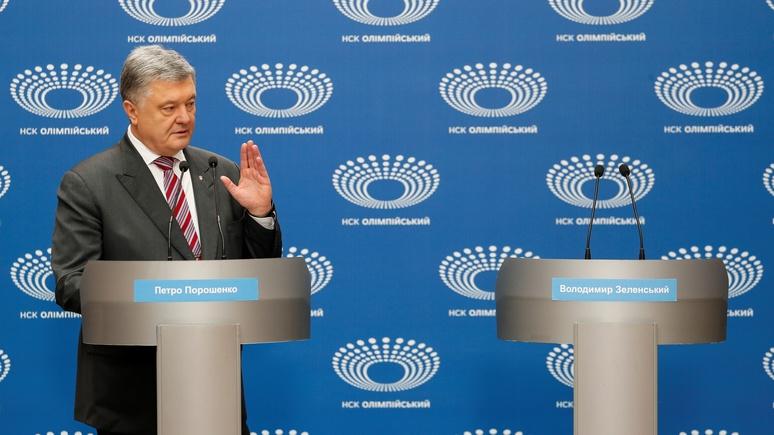 NYT: «дебатами одного человека» Порошенко довёл украинские выборы до абсурда