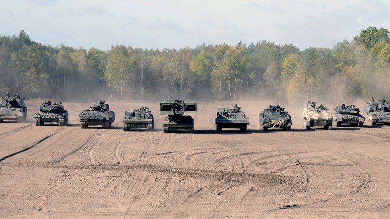 CM: Берлин пишет «модернизация» бундесвера , а на уме — война с Россией