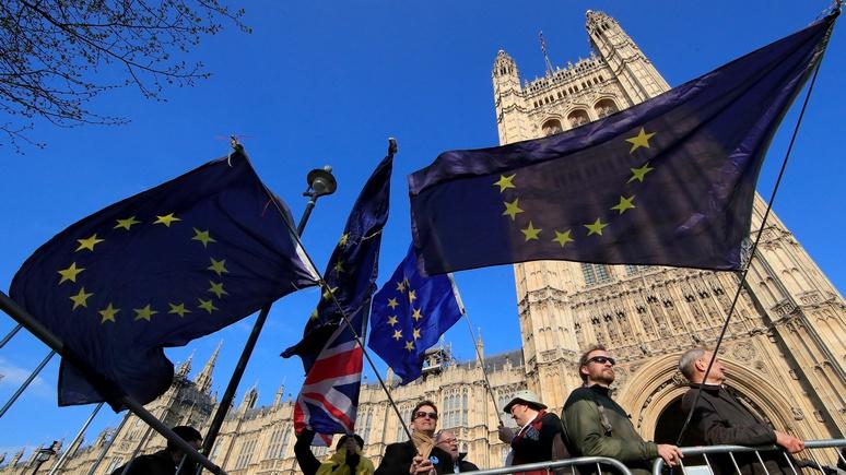 Welt: отсрочка брексита обойдётся Европарламенту в €21 млн на зарплаты британским депутатам
