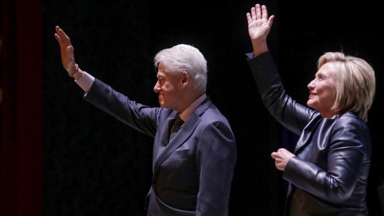 Die Zeit: всего лишь второстепенные фигуры — несмотря на деньги и связи, чета Клинтон утрачивает влияние