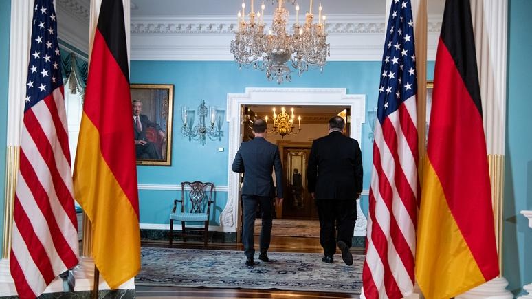 Süddeutsche Zeitung: дружба Германии и США разбита вдребезги