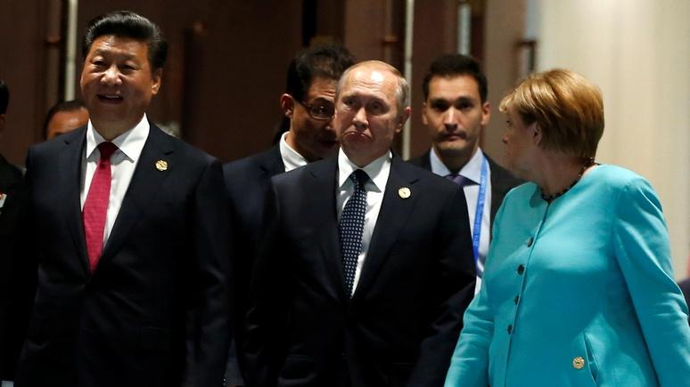 Les Echos: перед лицом «угрозы с Востока» Европе и России лучше быть вместе