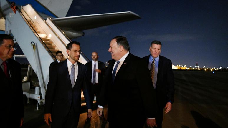 WSJ: на фоне обострения с Ираном США вывозят своих дипломатов из Ирака