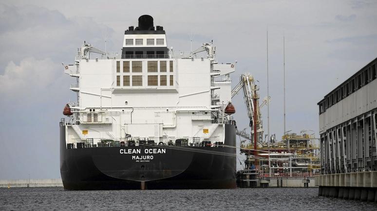 Handelsblatt: «наступление» России поставило под угрозу амбициозные газовые планы США в ЕС