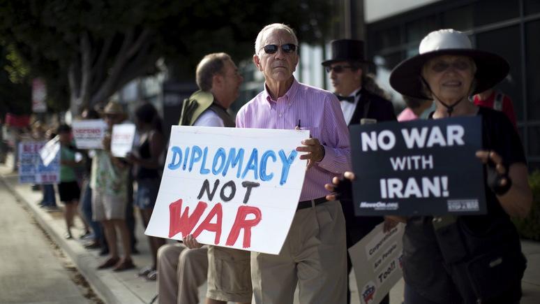 Contra Magazin: большинство американцев не хотят войны с Ираном