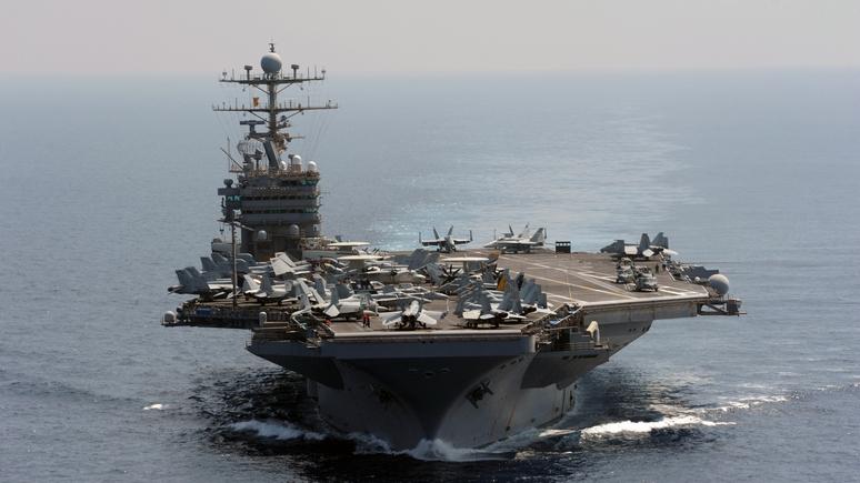 NYT: в Иране пригрозили отправить американские корабли на дно