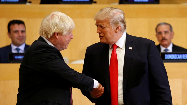Sun: вмешательство Трампа в британские выборы грозит расколом между Лондоном и Вашингтоном