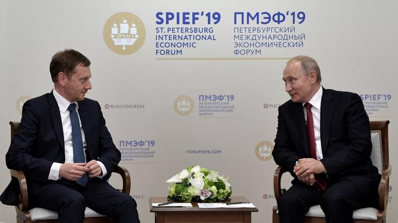 Das Erste: премьер Саксонии в пику критикам выступил за снятие санкций с России