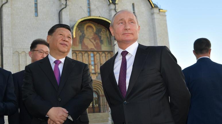 NP: даже если дружба Путина и Си будет недолгой, Штатам она может навредить
