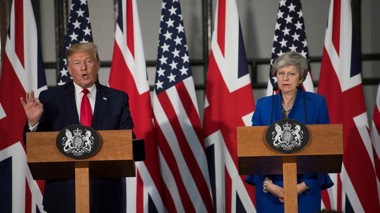 Times: Трамп заставляет Великобританию выбирать между США и Китаем, и выбор очевиден