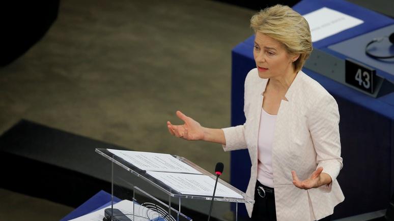 Die Welt: Урсула фон дер Ляйен пообещала диалог с Россией «с позиции силы»
